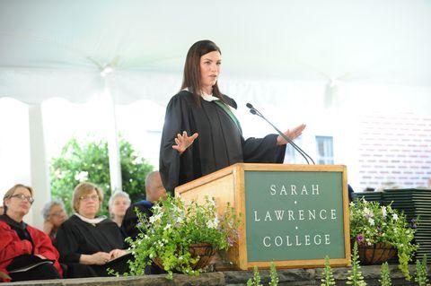 Speech, Public speaking, Event, Orator, Community, Graduation, Academic dress, Ceremony, Professor, Scholar,
