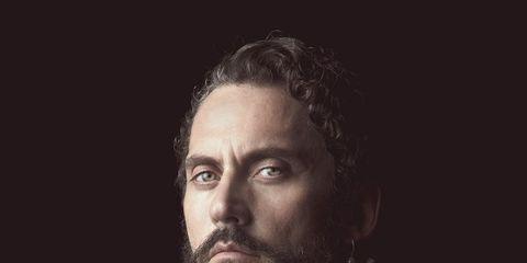 Hair, Face, Facial hair, Beard, Portrait, Head, Sky, Chin, Beauty, Moustache,