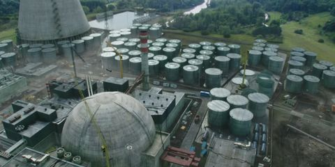 Aerial photography, Bird's-eye view, Urban design, Photography, Landscape, City, Power station,
