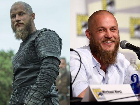 Los Actores De Vikingos En La Vida Real