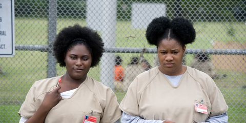 Sleeve, Wire fencing, Mesh, Jewellery, Black hair, Chain-link fencing, Chest, Necklace, Apron, Jheri curl,