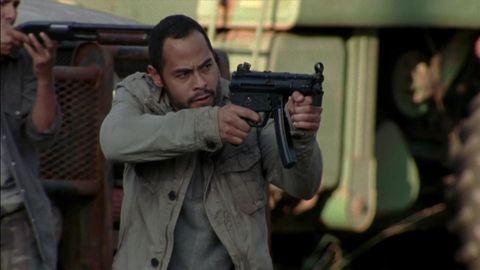 Gun, Firearm, Shooting, Soldier, Machine gun, Trigger, Gun barrel, Air gun, Gun accessory, Military person,