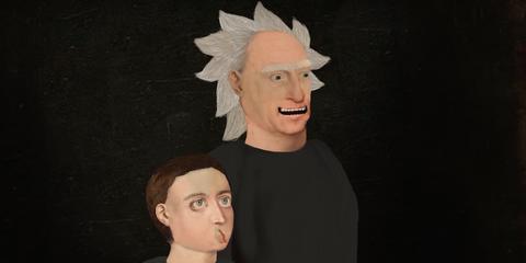 Face, Head, Chin, Cheek, Forehead, Art, Sculpture, Animation, Illustration, Gesture,