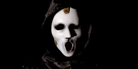 Head, Fiction, Mask, Goth subculture, Headgear, Ghost, Darkness, Photography, Skull, Mime artist,