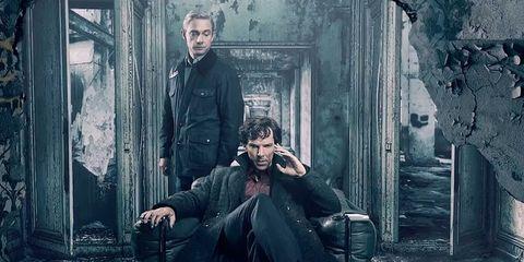 Ha sido la cuarta temporada de \'Sherlock\' la última?