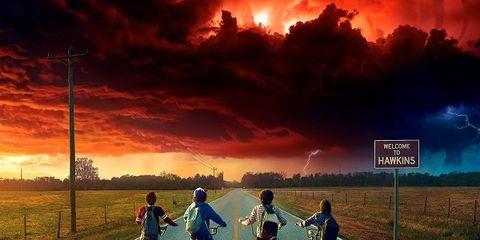 Sky, Poster, Movie, Cloud, Album cover, Horizon, Adventure game, Font, Adaptation, Photography,