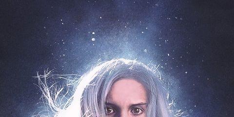 Hair, Face, Sky, Head, Beauty, Hairstyle, Blond, Portrait, Human, Cloud,