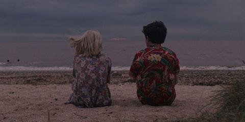 Human, Sky, Sea, Adaptation, Photography, Landscape, Screenshot, Rock, Ocean,