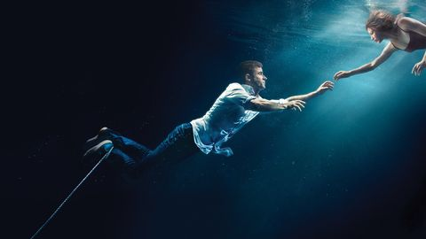 Water, Underwater, Recreation, Performance, Dancer, Photography, Freediving, Flash photography,