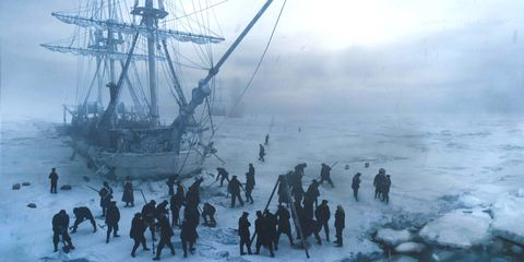 Ice, Vehicle, Galleon, Arctic, Tall ship, Ship, East indiaman, Watercraft, Sailing ship, Manila galleon,