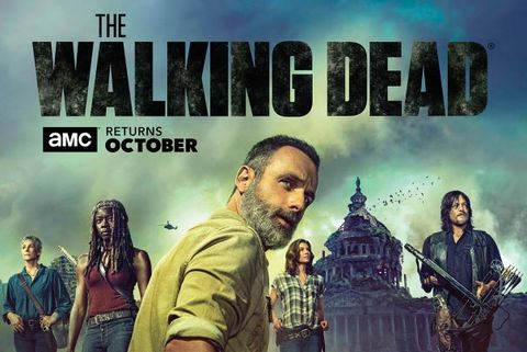 the walking dead temporada 9 poster