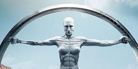Statue, Muscle, Sky, Sculpture, Art, Photography, Illustration,