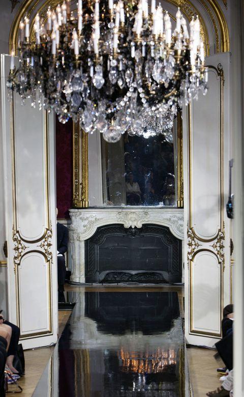 Interior design, Ceiling fixture, Light fixture, Chandelier, Interior design, Glass, Metal, Silver, Lighting accessory, Palace,