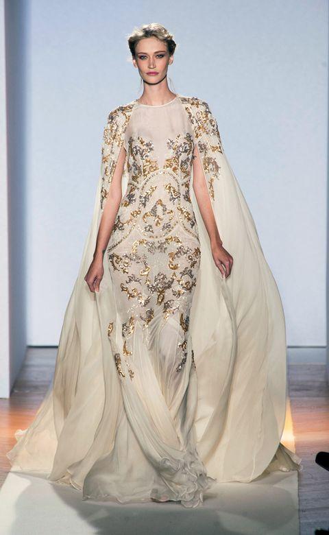 Clothing, Dress, Shoulder, Textile, Gown, Formal wear, Fashion model, Style, One-piece garment, Fashion,