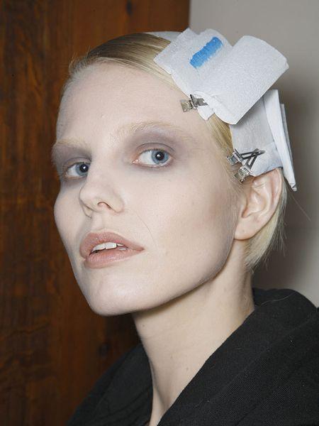 Lip, Cheek, Chin, Forehead, Eyebrow, Jaw, Eyelash, Portrait, Nurse uniform, Makeover,