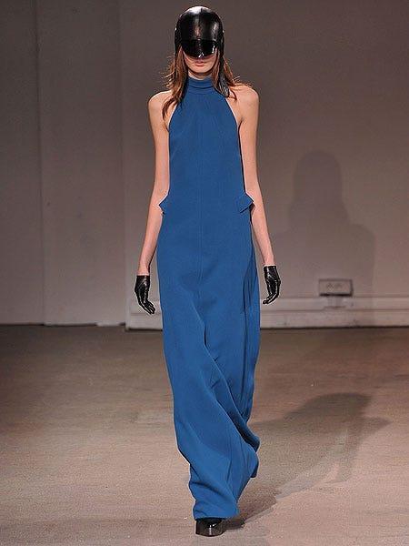 Shoulder, Dress, Joint, One-piece garment, Style, Fashion model, Fashion, Sunglasses, Waist, Electric blue,