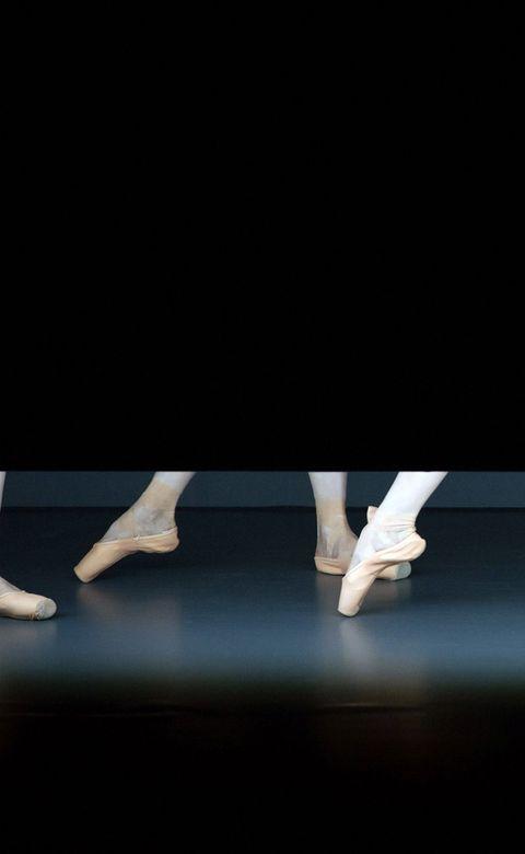 Human leg, Foot, Dance, Ankle, Stage, Dancer, Barefoot, Ballet shoe, Concert dance, Sock,