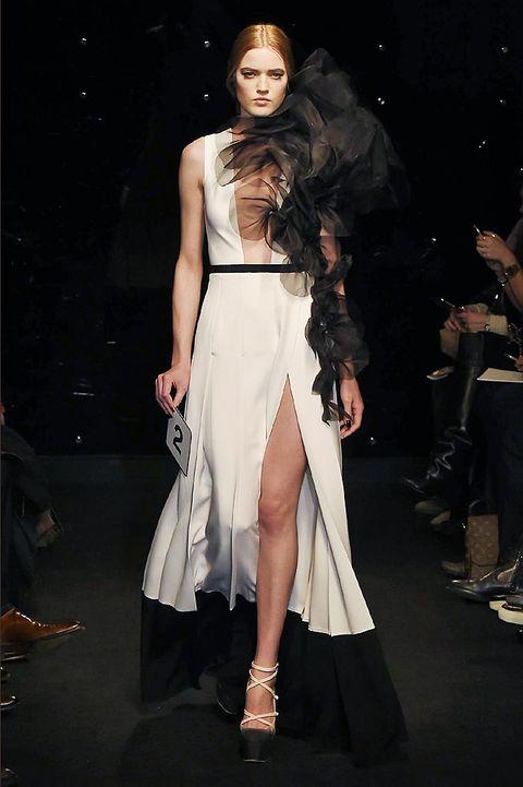 Footwear, Shoe, Outerwear, Dress, Style, High heels, Fashion model, Fashion accessory, Fashion, Sandal,