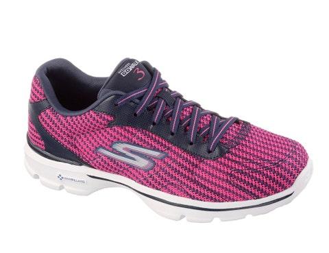 Footwear, Product, Shoe, Sportswear, Athletic shoe, Magenta, White, Red, Pink, Pattern,