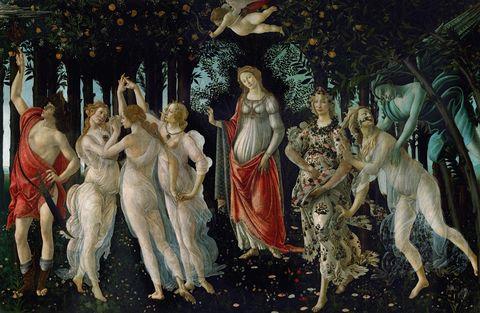 Human, Art, Mythology, Painting, Illustration, Artwork, Visual arts, Middle ages, Drawing, Modern art,