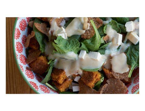 Green, Food, Cuisine, Leaf vegetable, Dish, Recipe, Finger food, Ingredient, Vegetable, Fried food,