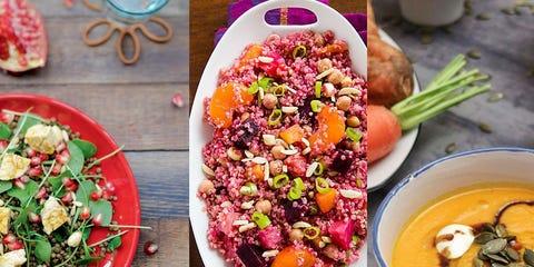 Dish, Food, Cuisine, Pomegranate, Ingredient, Beetroot, Superfood, Salad, Produce, Vegetable,
