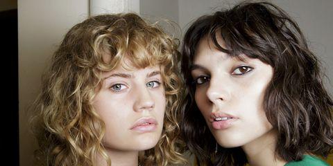 Hair, Face, Hairstyle, Eyebrow, Chin, Blond, Brown hair, Lip, Cheek, Nose,