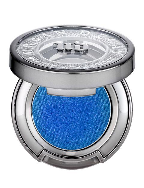Product, Blue, Aqua, Azure, Electric blue, Cobalt blue, Circle, Silver, Watch accessory, Steel,