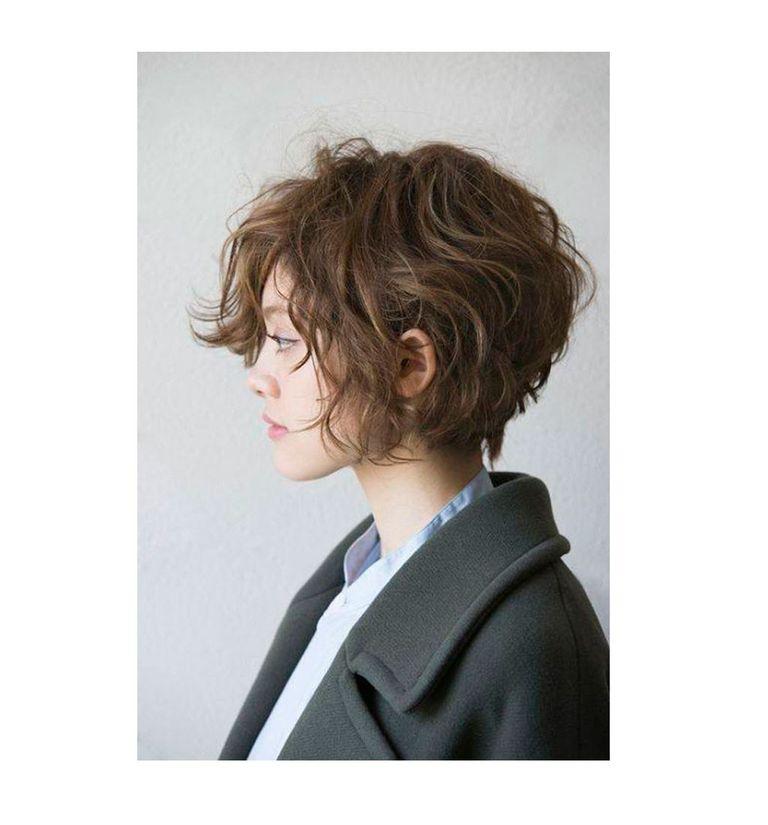 De moda peinados pelo bob Imagen de cortes de pelo tutoriales - 10 peinados con ondas para pelo corto que salvarán tu verano