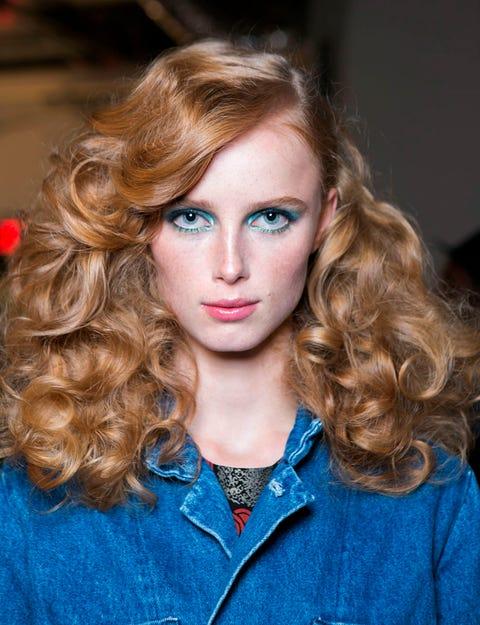 Lip, Hairstyle, Eye, Chin, Eyebrow, Eyelash, Style, Collar, Iris, Ringlet,