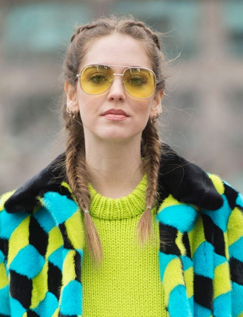 Clothing, Eyewear, Hair, Glasses, Vision care, Yellow, Sunglasses, Sleeve, Goggles, Textile,