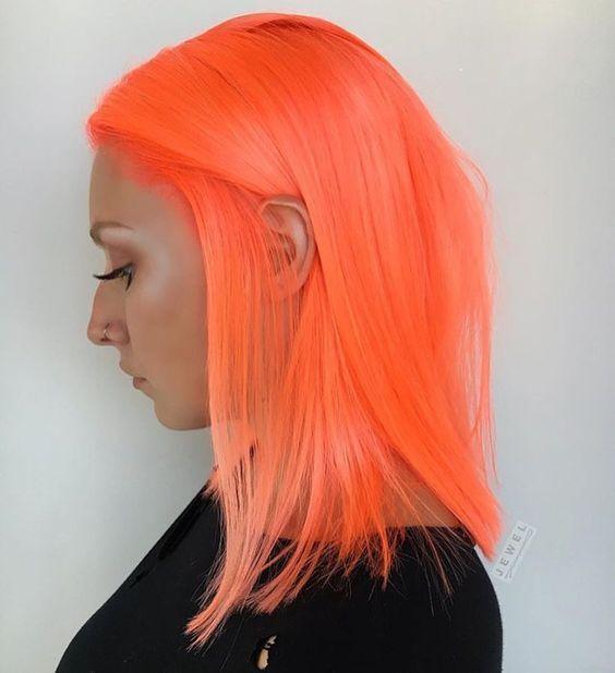 Tintes para cabello color neon