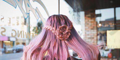 Hairstyle, Long hair, Hair coloring, Red hair, Artificial hair integrations, Brown hair, Liver, Step cutting, Feathered hair, Layered hair,
