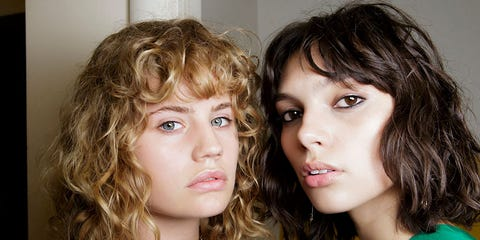 Hair, Face, Hairstyle, Eyebrow, Chin, Blond, Cheek, Lip, Head, Brown hair,
