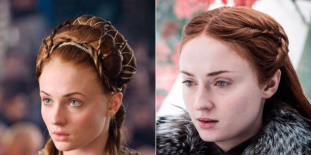 Todos Los Personajes A Los Que Sansa Stark Ha Copiado El Peinado En