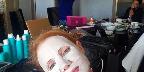 Eyelash, Tablecloth, Cosmetics, Makeover, Paint, Linens, Tongue, Lamp, Box,