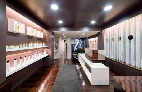 Interior design, Ceiling, Floor, Flooring, Interior design, Hardwood, Houseplant, Wood stain, Design, Light fixture,