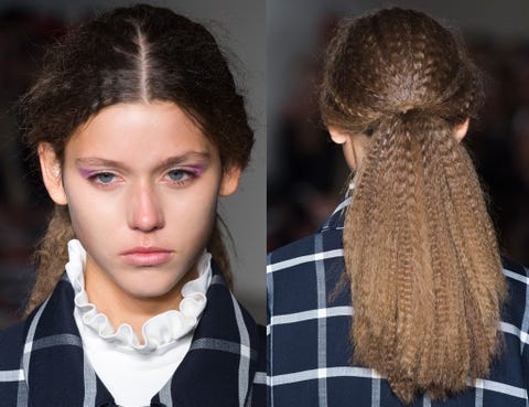 Lip, Hairstyle, Eyebrow, Textile, Collar, Style, Eyelash, Fashion, Black hair, Long hair,