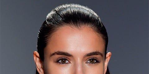 Hair, Ear, Nose, Lip, Cheek, Brown, Hairstyle, Skin, Chin, Forehead,