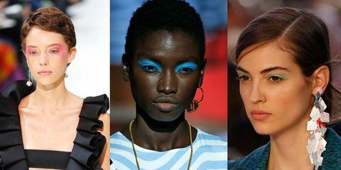 Hair, Face, Fashion model, Skin, Fashion, Beauty, Hairstyle, Lip, Eyebrow, Head,