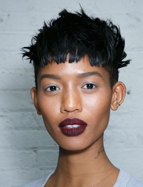 Ear, Lip, Cheek, Hairstyle, Skin, Chin, Forehead, Eyebrow, Eyelash, Style,