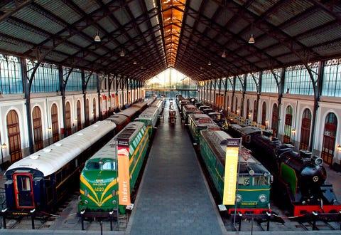 Mode of transport, Transport, Rolling stock, Train, Public transport, Train station, Rolling, Railway, Passenger car, Railroad car,