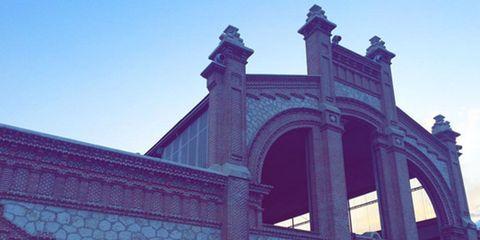 Arch, Market, Tourist attraction, Classical architecture, Umbrella,