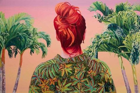 Art, Paint, Flowering plant, Illustration, Art paint, Painting, Plant stem, Drawing, Artwork, Perennial plant,