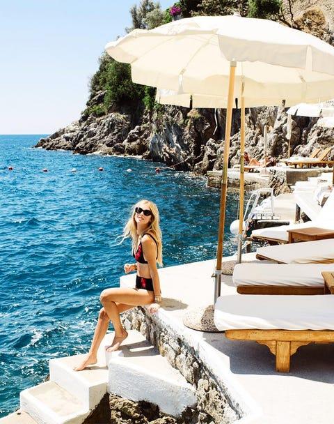 Vacation, Sun tanning, Summer, Sea, Leisure, Outdoor furniture, Sunlounger, Fun, Furniture, Tourism,