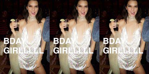 23e6f883fa Kendall Jenner pasó su 21 cumpleaños cenando, bailando y bebiendo  legalmente por primera vez, como muchos hacen. Pero a diferencia de la  mayoría de la gente ...