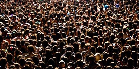 People, Crowd,