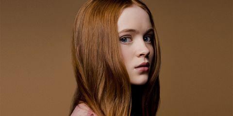 Hair, Face, Hairstyle, Lip, Chin, Hair coloring, Eyebrow, Beauty, Layered hair, Long hair,