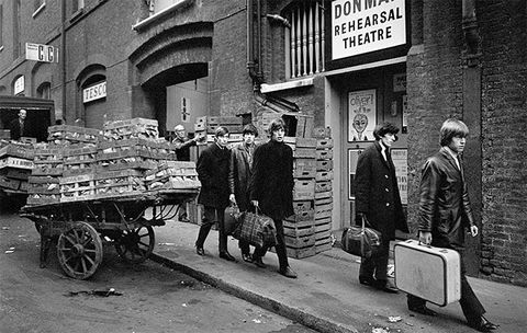 Monochrome, Street, Carnivore, Luggage and bags, Cart, Peddler, Black-and-white, Monochrome photography, Baggage, Marketplace,