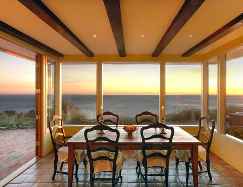 Interior design, Table, Room, Real estate, Furniture, Glass, Ceiling, Chair, Balcony, Hardwood,